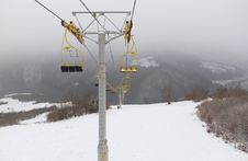 Free Ski Lift Chairs Stock Photography - 22997072