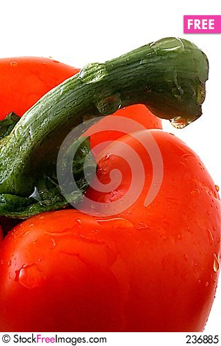 Free Pepper And Stem Royalty Free Stock Photo - 236885