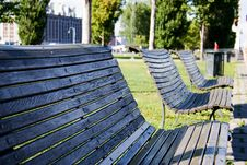 Free Bench In A Park Royalty Free Stock Photos - 230178