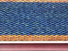 Free Roof Tiles Close-up Royalty Free Stock Images - 230279