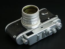Free Old Film Camera Stock Photography - 231132