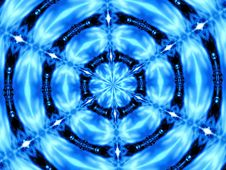 Free Blue Kaleidoscope Stock Photo - 231250