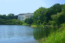 Free Museum By A Lake Royalty Free Stock Photos - 231318