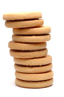 Free Biscuits Stack Stock Photos - 231963