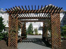 Free Wisteria Arbor Stock Images - 233134