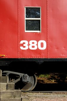 Free Red Caboose Stock Photo - 233160