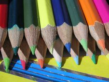 Free Crayons In The Sun Stock Image - 234481