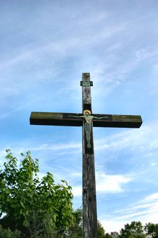 Free Cross Against The Sky Stock Photography - 235112