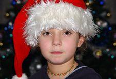 Free Christmas Girl Stock Photo - 235140