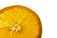 Free Macro Of An Orange Slice Stock Image - 235461