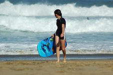 Free Rookie Surfer Stock Photo - 236510