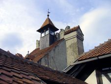 Free Bran Castle Detail - Romania Stock Photos - 237403