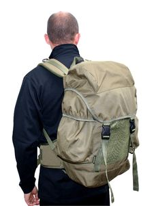 Free Man Wearing Rucksack Stock Photography - 237492