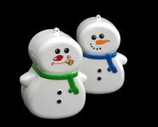 Free Snowmen Toys Stock Photos - 237723