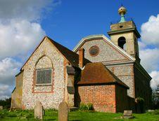 Free English Village Church Stock Image - 237881