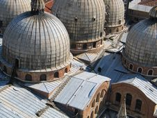 Free Basilica Di San Marco, Venice, Roofscape Royalty Free Stock Photos - 238458