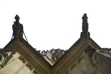 Free Looking Up At The Prague Castle Royalty Free Stock Photography - 238667