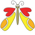 Free Cartoon Butterfly Stock Images - 2301624