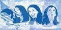 Free Grunge Women Royalty Free Stock Images - 2301809