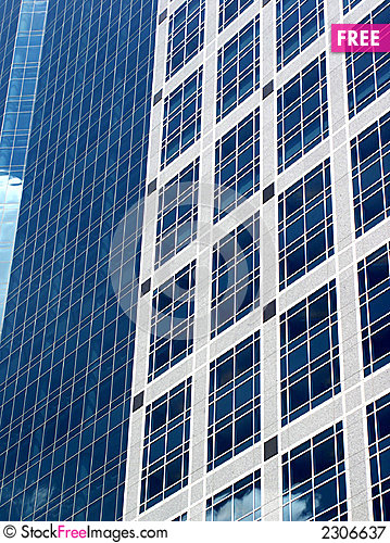 Free Blue Office Building Royalty Free Stock Photography - 2306637