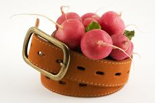 Free Radishes And A Belt Royalty Free Stock Photos - 2300468