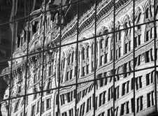 Free Windows Reflection BW Stock Image - 2300511