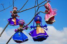 Free Ukrainian Handmade Dolls Stock Images - 2300724