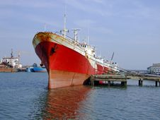 Free Cod Fish Ship Royalty Free Stock Photo - 2301145