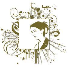 Free Grunge Woman Stock Photo - 2301740