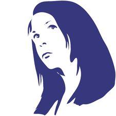 Free Woman Silhouette Stock Image - 2301751
