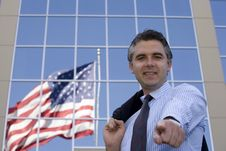 Free Businessman Pointing Stock Photos - 2302913