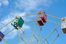 Free Ferris Wheel Ride Stock Image - 2302981