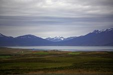 View Of The Mountians Royalty Free Stock Photos