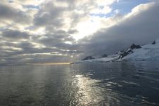 Free Antarctica Sunset Royalty Free Stock Images - 2305709