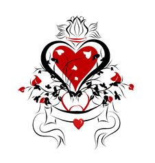 Love Chaos Royalty Free Stock Image
