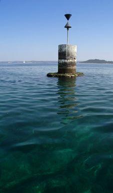 Free Disused Sea Beacon, Croatia Stock Photos - 2306183