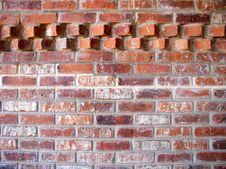 Free Brick Wall With Accent Pattern Royalty Free Stock Image - 2306296