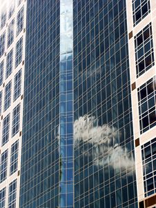 Free Blue Office Building Stock Photography - 2306652