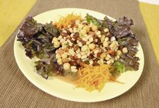 Chick Pea And Bean Salad Royalty Free Stock Images