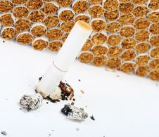 Free Burnt Cigarett Stock Photography - 2308572