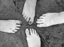 Free One Foot In Stock Photo - 2308660