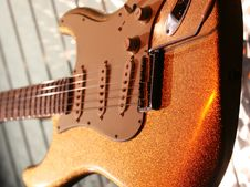 Free Classic Brown Guitar Royalty Free Stock Images - 2308949
