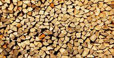 Split Log Texture Stock Images