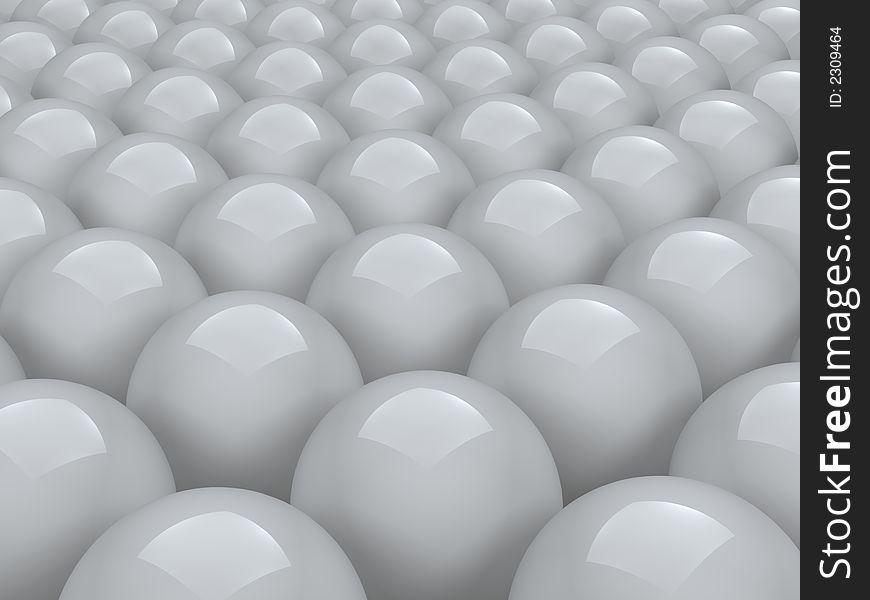 Balls array
