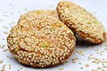 Free Sesame Cookie Stock Photography - 23001632