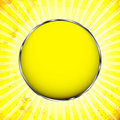 Free Yellow Frame With The Sun Rays Stock Images - 23008784