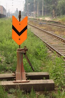 Free Railway Rail Switch Royalty Free Stock Images - 23000539