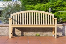 Free Wooden Bench Stock Photography - 23003662