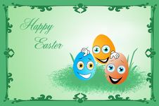 Free Easter Eggs Royalty Free Stock Images - 23004899