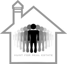 Free Hunters For Real Estate Royalty Free Stock Image - 23005776